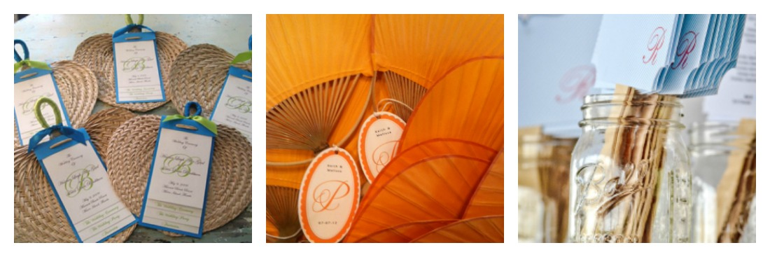 Hand Fans for weddings