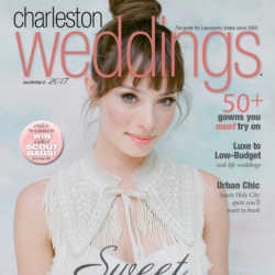 Charleston Weddings Cover for Christina Baxter feature: Jared & Catherine
