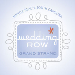 Cover for Wedding Row Grand Strand featured Christina Baxter article: Leslie & Dan