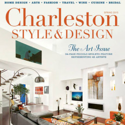 Charleston Style & Design Cover for Christina Baxter Article, Kelly & Chris