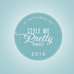 Christina Baxter featured on Style Me Pretty: Classic Southern Romance Done Oh-So-Right